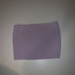 cute light purple tube top from pacsun